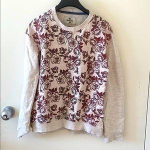 Bell field floral sweatshirt